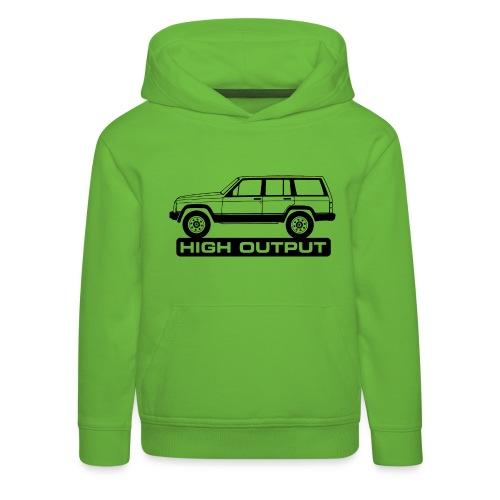 Jeep XJ High Output - Autonaut.com - Kids' Premium Hoodie