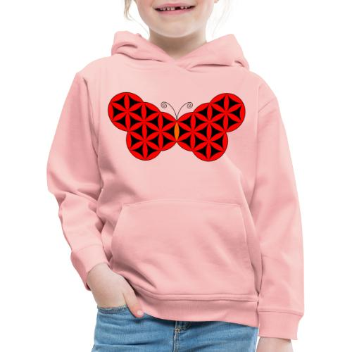 The Butterfly Of Life - Sacred Animals. - Kids' Premium Hoodie