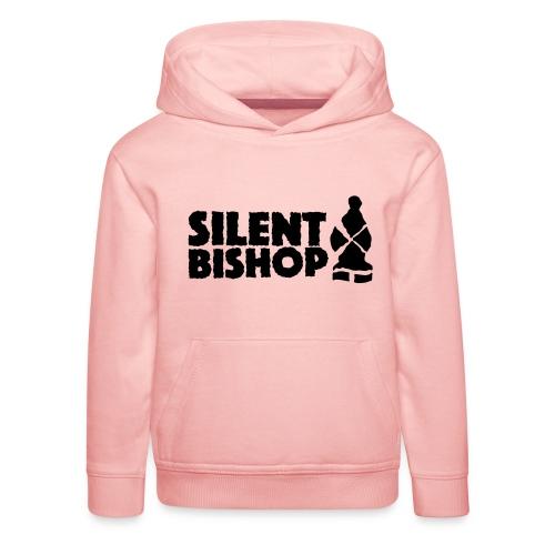Silent Bishop Logo Groot - Kinderen trui Premium met capuchon