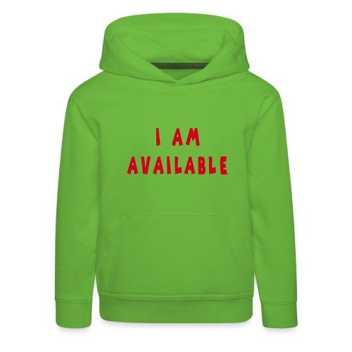 Am Available - Lasten premium huppari