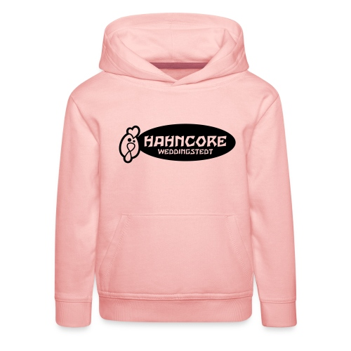 hahncore_sw_nur - Kinder Premium Hoodie