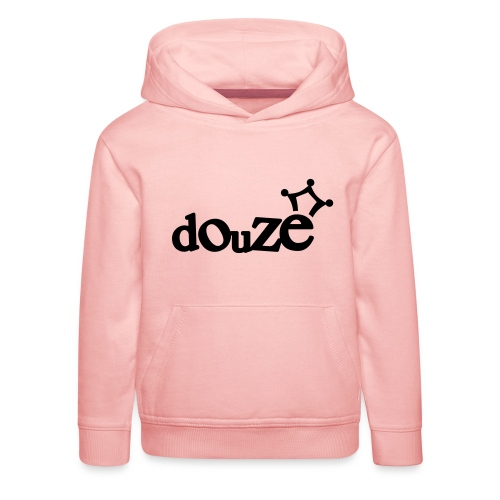 logo_douze - Pull à capuche Premium Enfant