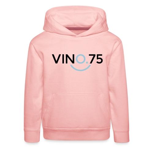 VINO75 - Felpa con cappuccio Premium per bambini