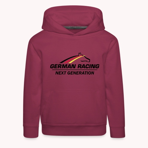 German Racing Next Generation Logo - Kinder Premium Hoodie