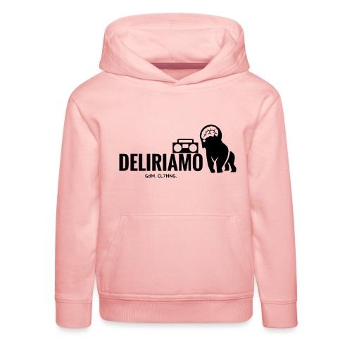 DELIRIAMO CLOTHING (GdM01) - Felpa con cappuccio Premium per bambini