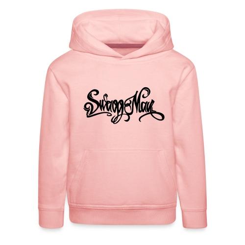 Swagg Man logo - Pull à capuche Premium Enfant