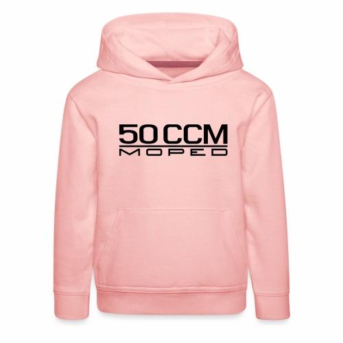 50 ccm Moped Emblem - Kids' Premium Hoodie