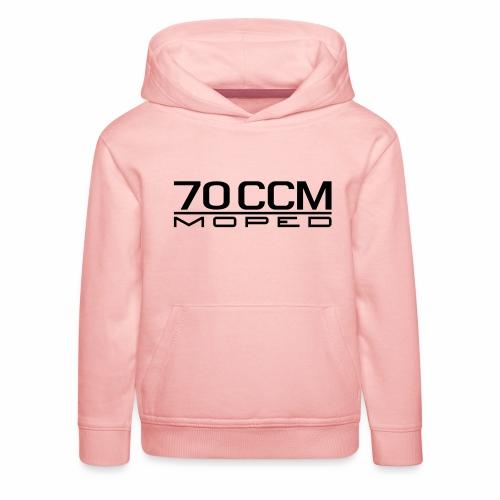 70 ccm Moped Emblem - Kids' Premium Hoodie