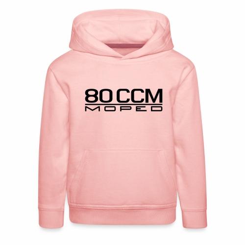 80 ccm Moped Emblem - Kids' Premium Hoodie