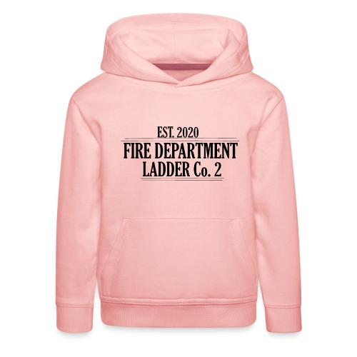 Fire Department - Ladder Co.2 - Premium hættetrøje til børn