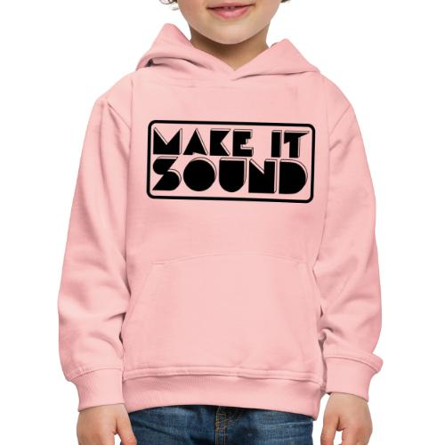 MAKE IT SOUND UMEÅ - Premium-Luvtröja barn