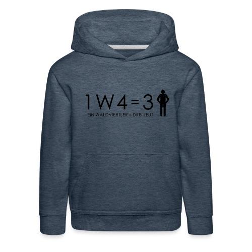 1W4 3L - Kinder Premium Hoodie
