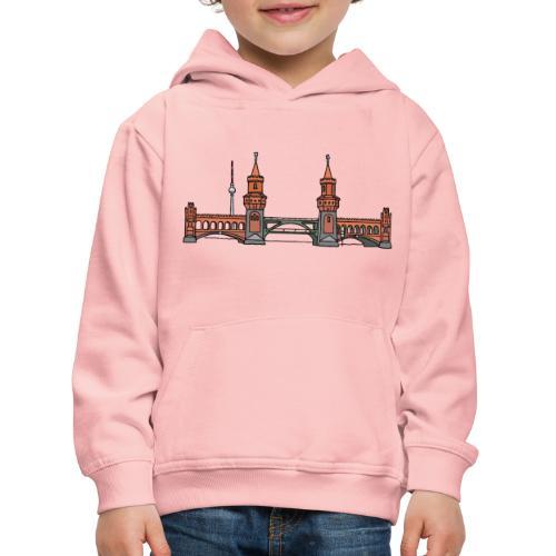 Oberbaumbrücke à BERLIN c - Pull à capuche Premium Enfant