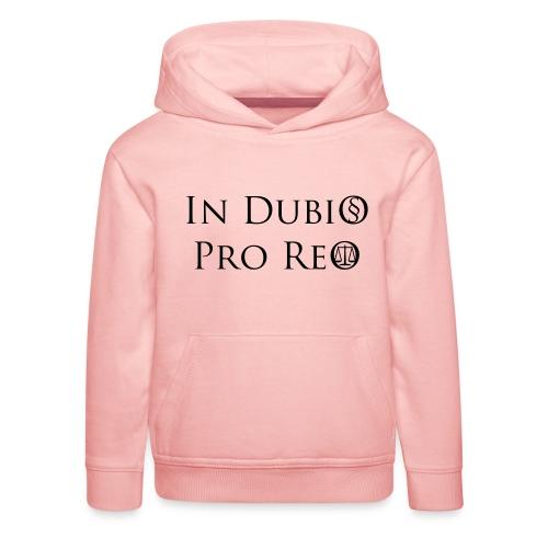 In Dubio pro Reo - Kinder Premium Hoodie