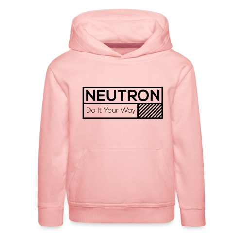 Neutron Vintage-Label - Kinder Premium Hoodie
