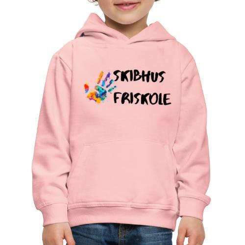 Skibhus Friskole - Premium hættetrøje til børn
