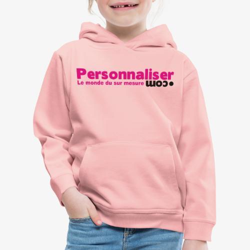 logo personnaliser - Pull à capuche Premium Enfant