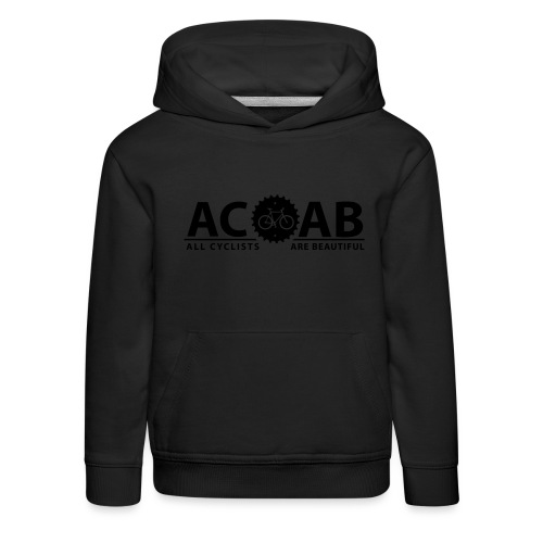 ACAB All Cyclists Are Beautiful T-Shirts - Kinder Premium Hoodie