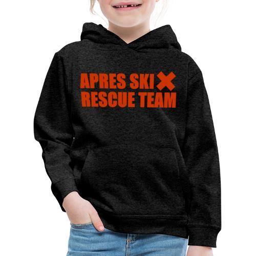 apres-ski rescue team - Kinderen trui Premium met capuchon