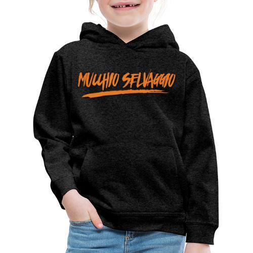 Mucchio Selvaggio 2016 Dirty Orange - Felpa con cappuccio Premium per bambini