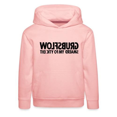 Wolfsburg (black_oldstyle) - Kinder Premium Hoodie