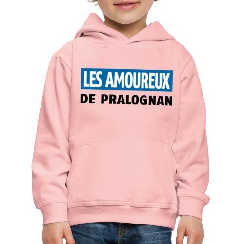 les amoureux de pralognan texte - Pull à capuche Premium Enfant