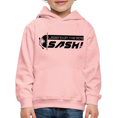 DJ SASH! Turntable 2020 Logo - Kids' Premium Hoodie