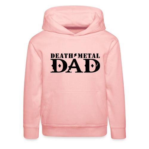 death metal dad - Kinderen trui Premium met capuchon