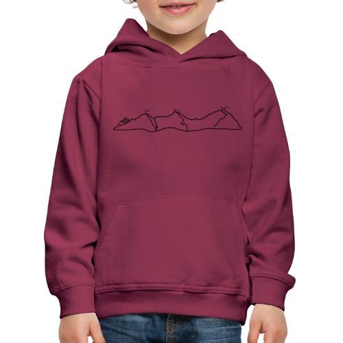Eiger, Mönch und Jungfrau - Kinder Premium Hoodie