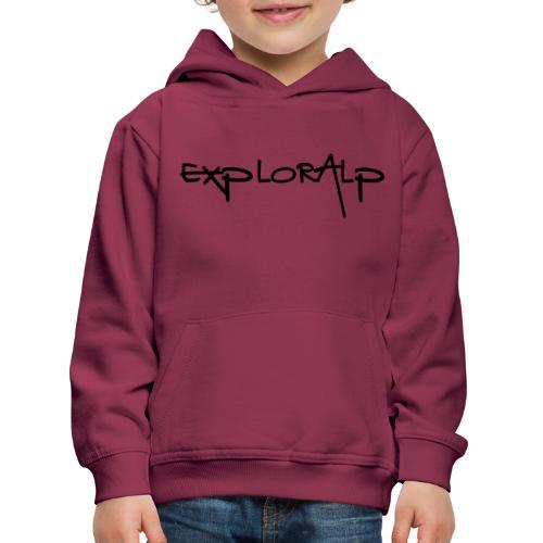 exploralp test oriz - Kids' Premium Hoodie