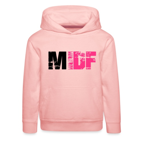 Logo MIDF 2 - Pull à capuche Premium Enfant