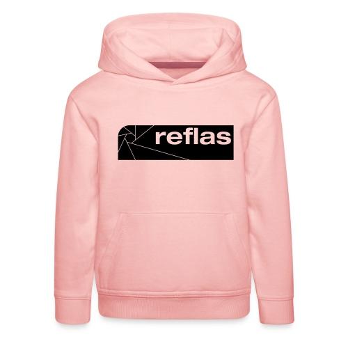 Reflas Clothing Black/Gray - Felpa con cappuccio Premium per bambini