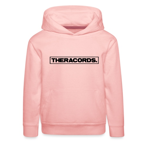 Theracords_logo_black_TP - Kinderen trui Premium met capuchon