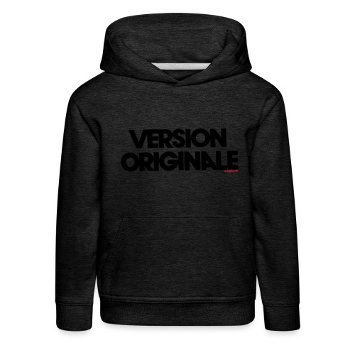 Version Original - Pull à capuche Premium Enfant