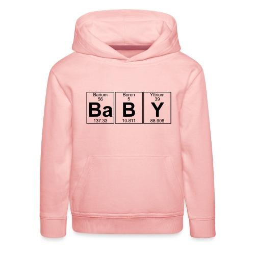 Ba-B-Y (baby) - Full - Kids' Premium Hoodie