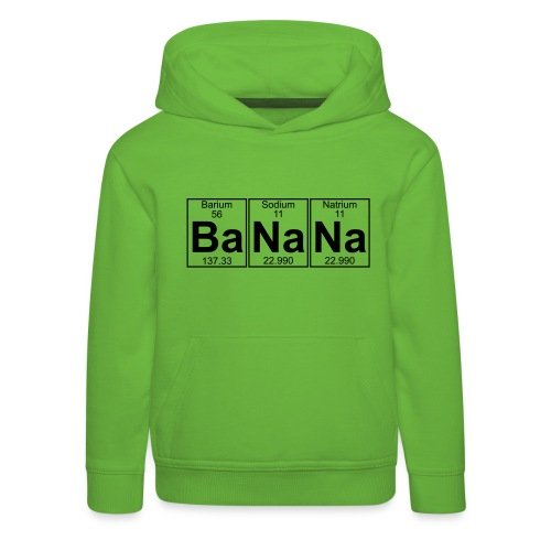Ba-Na-Na (banana) - Full - Kids' Premium Hoodie