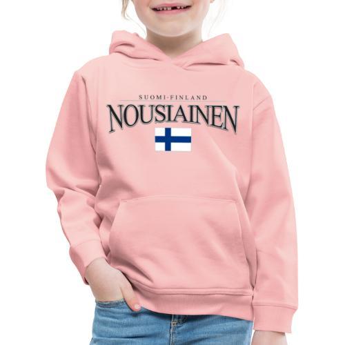 Suomipaita - Nousiainen Suomi Finland - Lasten premium huppari