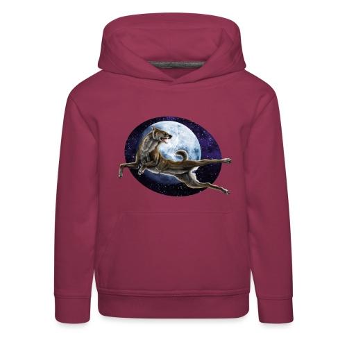 Galaxy Wolf - Kinder Premium Hoodie