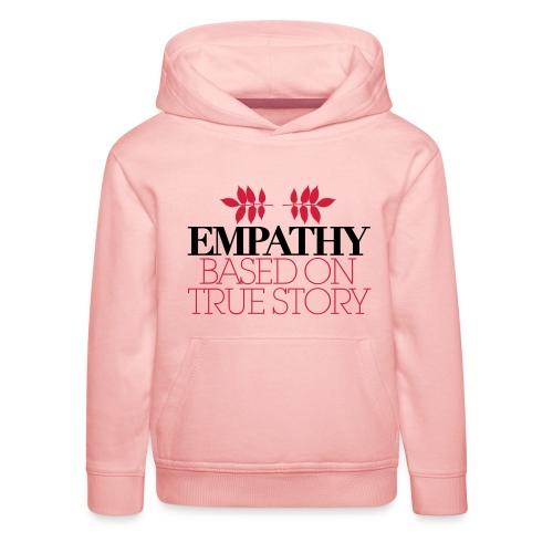 empathy story - Bluza dziecięca z kapturem Premium