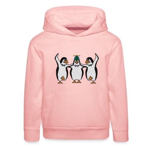 Penguin Trio - Kids' Premium Hoodie