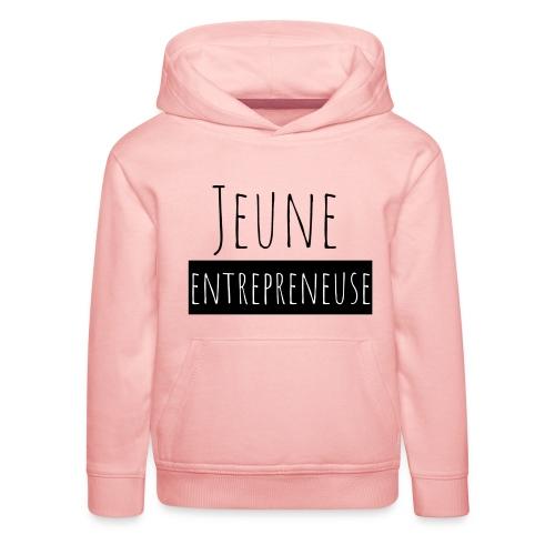 Jeune Entrepreneuse - Pull à capuche Premium Enfant