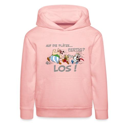 Asterix Obelix Auf die Plätze... Fertig? Los! - Pull à capuche Premium Enfant