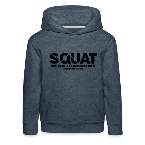 squat - Kids' Premium Hoodie