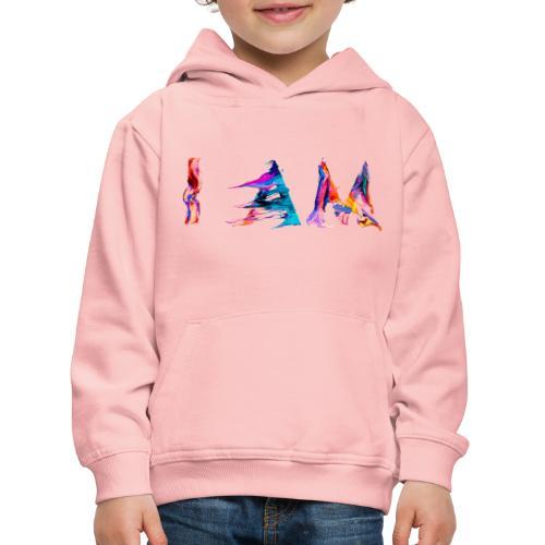 I AM - Pull à capuche Premium Enfant