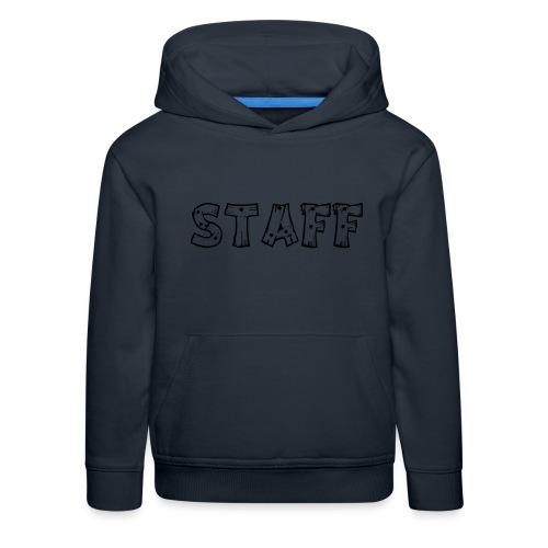 STAFF - Felpa con cappuccio Premium per bambini