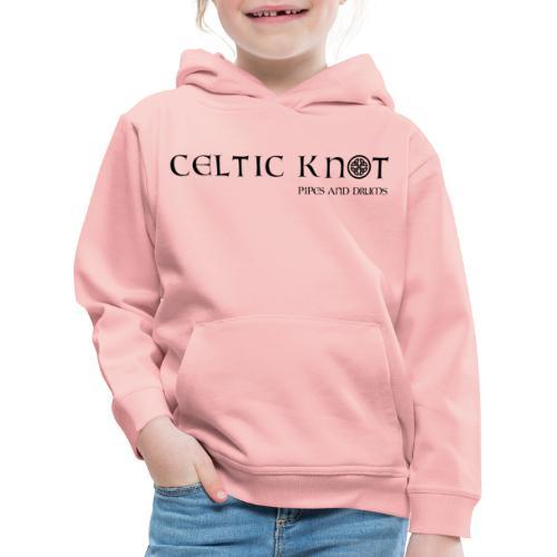 Celtic knot - Felpa con cappuccio Premium per bambini
