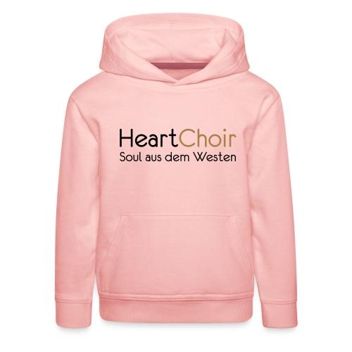 heartchoir schritzug ohne website - Kinder Premium Hoodie