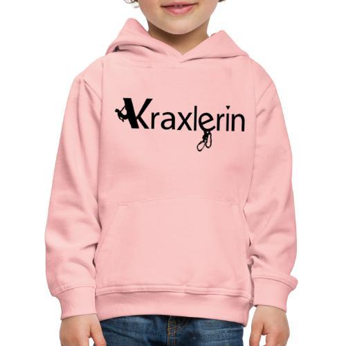 Kraxlerin - Kinder Premium Hoodie