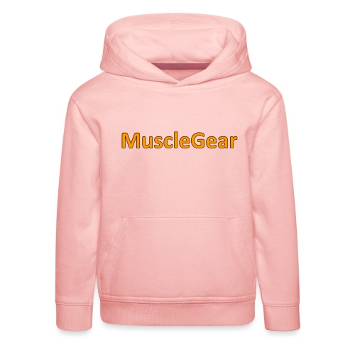 MuscleGear - Premium hættetrøje til børn