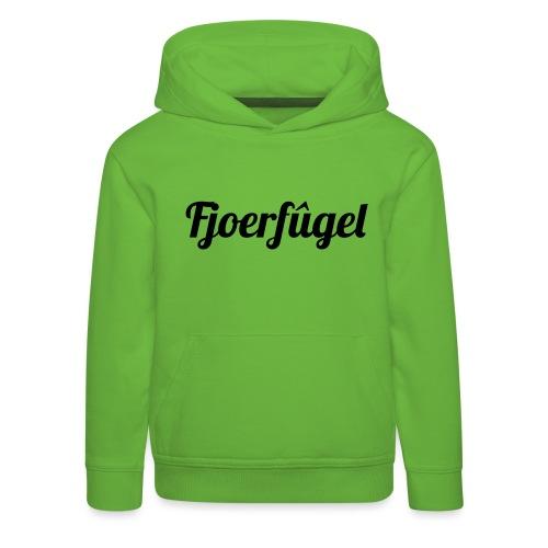 fjoerfugel - Kinderen trui Premium met capuchon